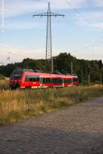 br-442-talent-2/289136/442-631-8-als-rb21-rb-18678 442 631-8 als RB21 (RB 18678) von Potsdam Griebnitzsee nach Wustermark in Satzkorn. 23.08.2013